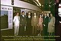 Europos Parlamentas Strasbūre, 1991 m. liepos mėn. sesija. Vytautas Landsbergis su delegacija iš Lietuvos. Kairėje VLIKo įgaliotinis prie EP ir ET Kasparas Dikšaitis.jpg