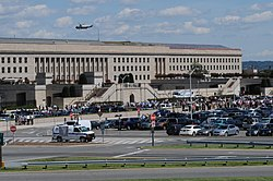 Evacuating the Pentagon after Earthquake.jpg