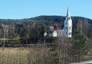 Evje og Hornnes - Evje Church