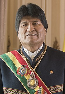Evo Morales Former Bolivian President and politician