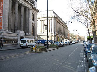 Exhibition Road - Image: Exhibition Road geograph.org.uk 777399