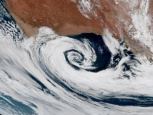 Extratropical cyclone - Extratropical cyclones are clockwise spinning in the Southern Hemisphere, just like tropical cyclones.
