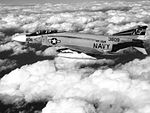 F-4J Phantom II of VF-154 in flight in January 1970.jpg