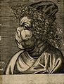 F. Gruniacula, a character with a grotesque face. Line engra Wellcome V0007460EL.jpg