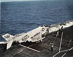 F3H-2 Demon of VF-193 is launched from USS Bon Homme Richard (CVA-31) c1959.jpg
