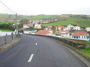 Conceição (Horta) - The locality of Volta looking towards the central part of Espalamaca, in the main part of Conceição
