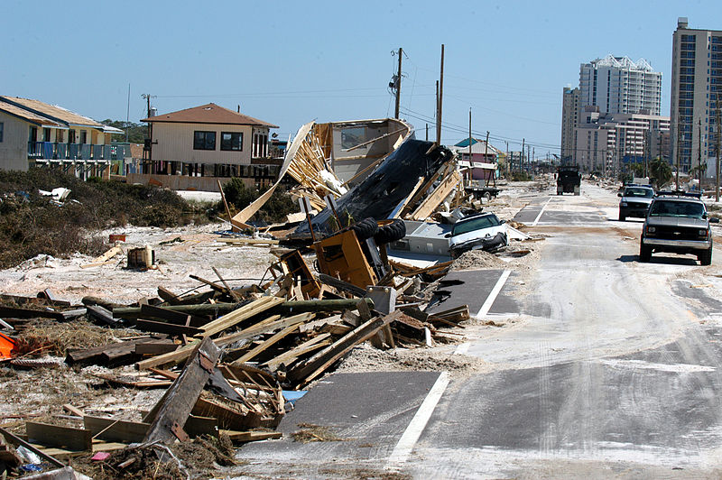 FEMA Hurricane Ivan damage Florida 2004