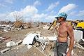 FEMA - 38998 - Local Resident looks toward his missing home.jpg