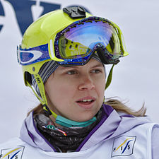 FIS Moguls World Cup 2015 Finals - Megève - 20150315 - Yulia Galysheva 1.jpg