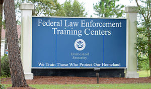 Federal Law Enforcement Training Centers - Image: FLETC sign, Brunswick, GA, US