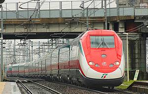 Frecciarossa - Frecciarossa ETR.500 train