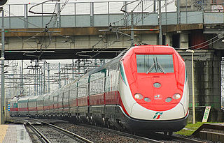 Frecciarossa Italian high-speed train