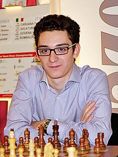 Fabiano Caruana Italian-American chess player
