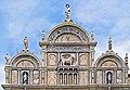 Facade of Scuola Grande di San Marco (Venice) - top part.jpg