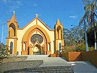 Fachada da Igreja Matriz de São José, Jaguaraçu MG2.JPG