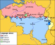 Municipalities with language facilities Wikipedia