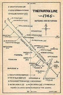 Fairfax Line surveyors line
