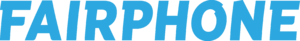 Fairphone - Image: Fairphone logo blue RGB