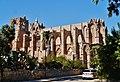 Famagusta - Gazimagusa Lala-Mustafa-Pasha-Moschee (Nikolauskathedrale) Südseite 1.jpg