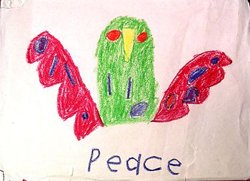 Peace Bird by Dean S. Miller