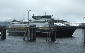 MV Chenega - Image: Fast Ferry Chenega at Sitka