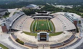 Faurot Field Stadium in Columbia, MO, USA