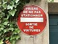 """Faux panneau-plaque dans l'attraction """"Ratatouille- The Adventure at Disneyland Paris"""" de Disneyland Paris (France) - octobre 2017 - 0.JPG"""