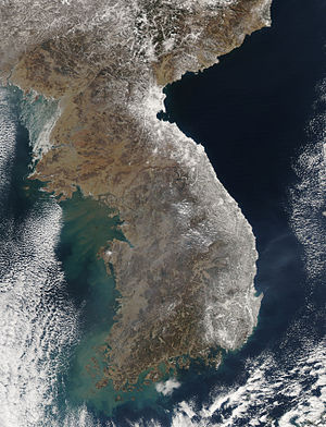 Feb 2011 Heavy Snow on the Korean Peninsula
