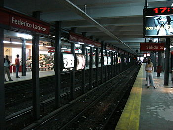 Federico Lacroze %28Subte de Buenos Aires%29