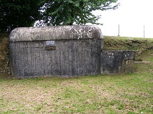 Fortified Sector of Maubeuge - Blockhouse at the Fort de Leveau