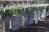 Una tumba de las mujeres soldado caídas durante la invasión de Polonia de 1939.