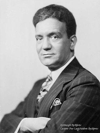 Ferdinand Pecora - Ferdinand Pecora, circa 1933