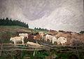 Ferenczy - Herd of oxen in Izvora, II.jpg