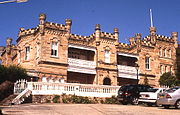 Fernleigh Castle at Rose Bay in New South Wales, Australia