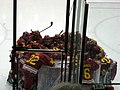 Ferris State Bulldogs team huddle.JPG