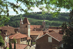 Figeac - A general view of Figeac