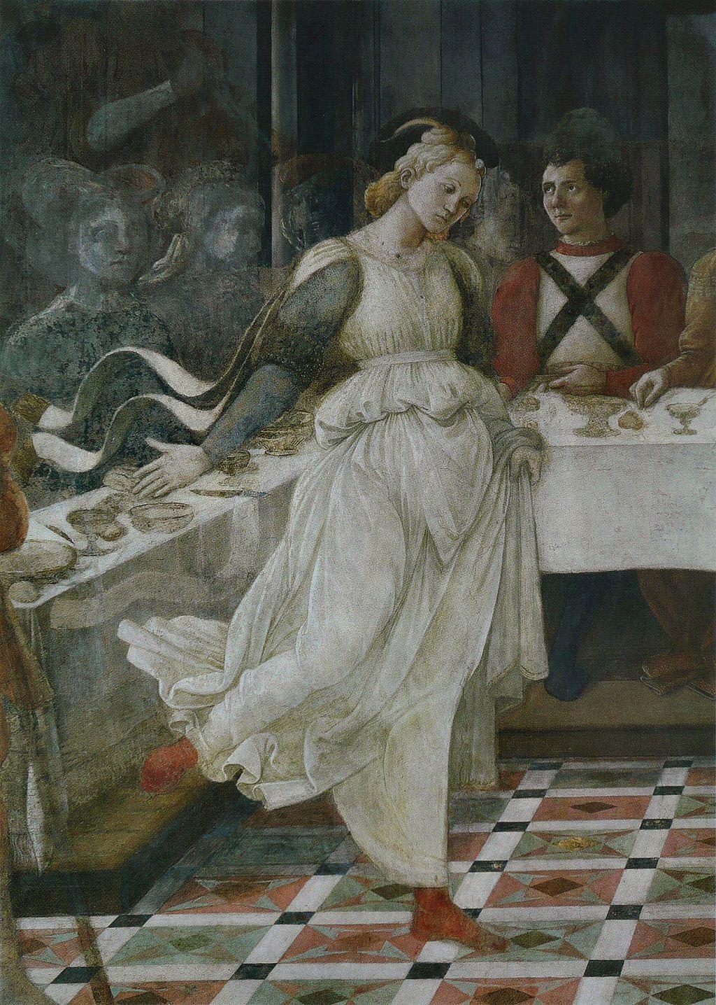 Filippo Lippi - Le Banquet d'Hérode