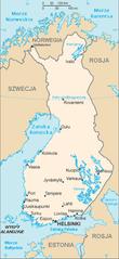 Mapa Finlandii