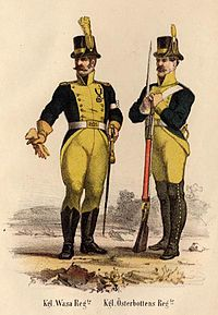 Finland Ostrobothnia regiment uniforms 1779.jpg