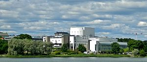 Finnish opera - Opera house in Helsinki.