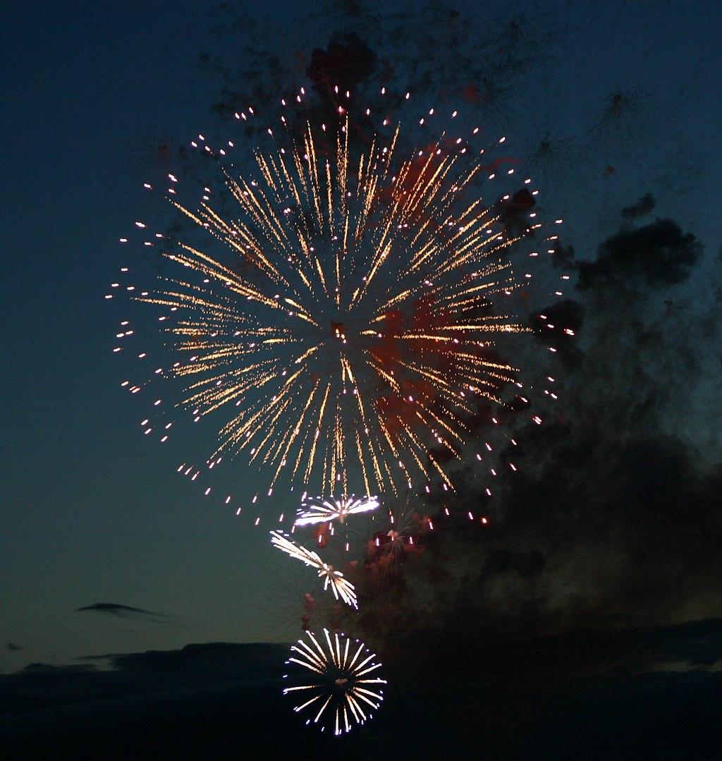 Fireworks in Iceland