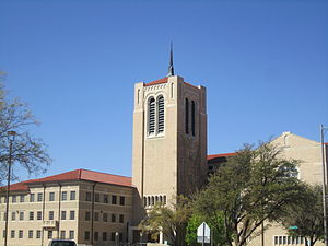 Lubbock, Texas - Lubbock has a large number of churches, including the downtown First Baptist congregation.