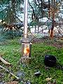 First Burn -Titanium Goat WiFi Stove (13521534383).jpg