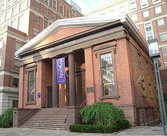 Campus of New York University - Wunsch Building, a former church