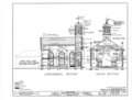 First Presbyterian Church, East Fourth and North Broad Streets, Tuscumbia, Colbert County, AL HABS ALA,17-TUSM,2- (sheet 5 of 8).png