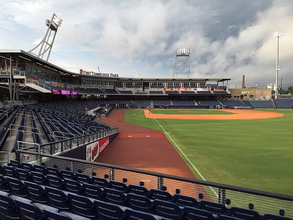 First Tennessee Park, September 10, 2016 - 1