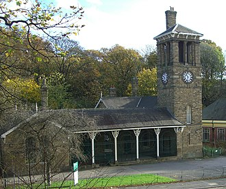 Firth Park (public park) - The lodge on Firth Park Road was the original main gate for the park.