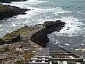Fiskieið also called Hvalbiareiði in Hvalba Suðuroy Faroe Islands.JPG