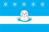 Flag of Snezhnogorsk (Murmansk oblast).png