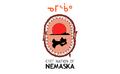 Flag of the Cree Nation of Nemaska.PNG